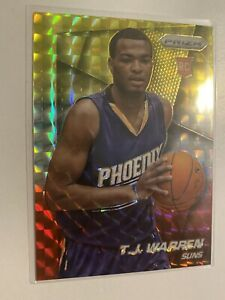 2014-15-Panini-Prizm-TJ-Warren-Rookie-Card-Yellow-Red-Mosaic-RC-Pacers