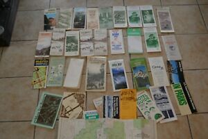 Vintage-Camping-Eastern-Sierras-Bishop-Mono-Northwest-Ca-Maps-Fishing-Parks-Lot