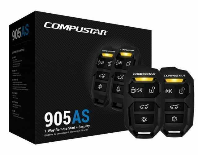 Compustar Cs905 As Remote Start And Security Combo 1