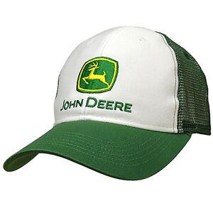 Image is loading John-Deere-Hat-John-Deere-Mesh-Cap-13080002- bf0259d51b16