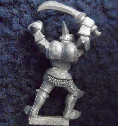 1985 caos matón 0213 05 F5 Kraan headcleaver Citadel Warhammer ejército Marauder D/&D