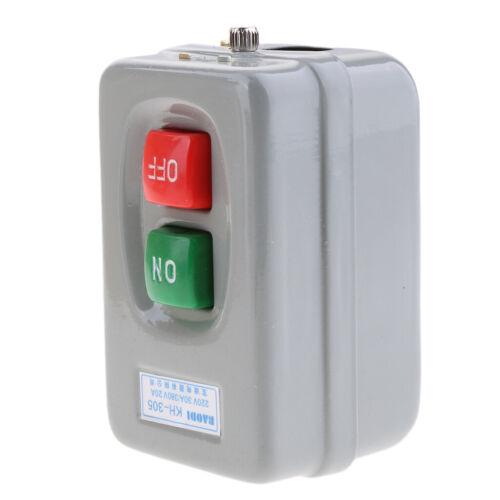 KH-305 3Phase Elettrica On Off Interruttore Presa Auto-bloccaggio
