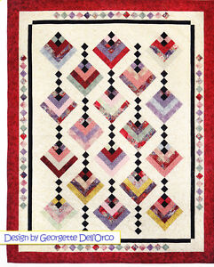 Hanging-Gardens-pieced-quilt-PATTERN-for-2-5-034-strips-Cozy-Quilts-3-sizes