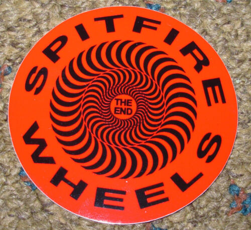 "SPITFIRE RED CIRCLE Logo Skate Sticker 2.5/"" great 4 skateboards helmets decal"
