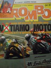 ROMBO 24 1987 speciale Didier Pironi in OFFSHORE - Loris Reggiani