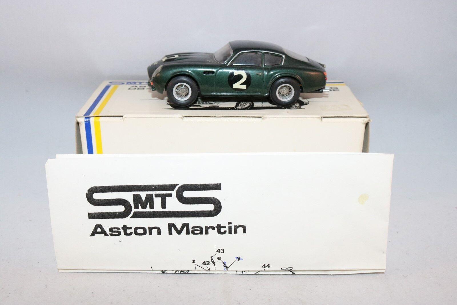 SMTS kit No 5 Aston Martin DB4 GT Zagato 1:43 in 99% mint condition in box