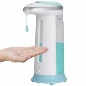 Dispenser Sapone Automatico 400ml Erogatore Gel Sapone Mani Sensore a Infrarossi