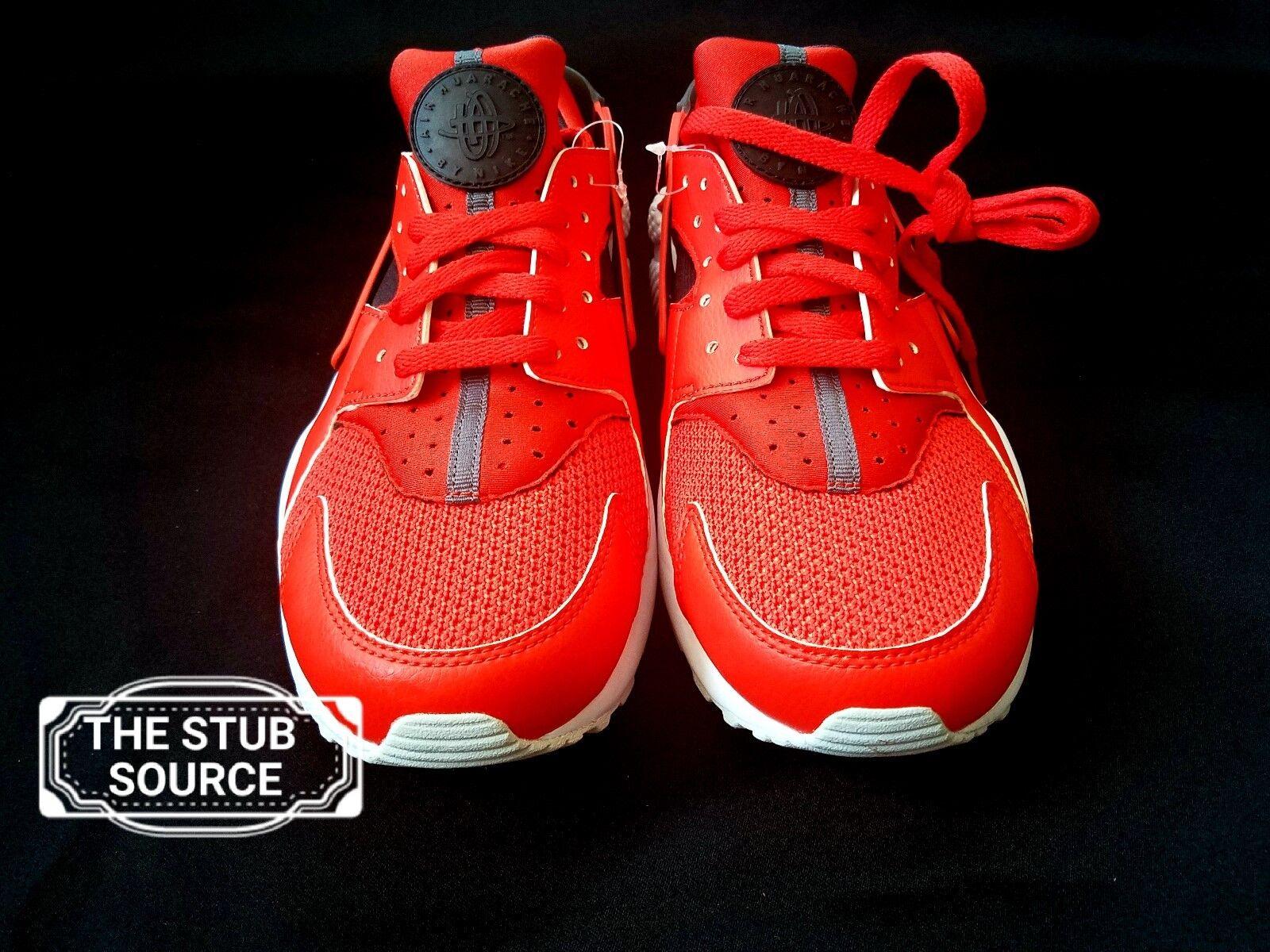 Nike Air Huarache Run Habanero Red Sample 9 Shoes Sneakers Size 9 Sample 318429-609 NWOB 6a3c9f