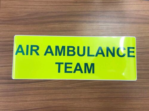 Magnetic AIR Ambulance team vehicle emergency response Text X 2 Pair