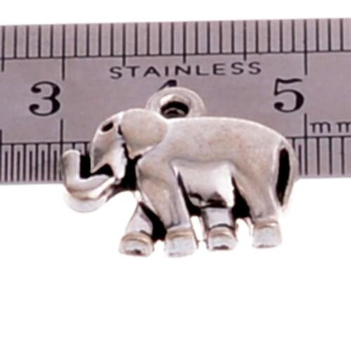 Jewellery Making Crafts Silver Beads Charms Pendants For Necklace Bracelet 10pcs