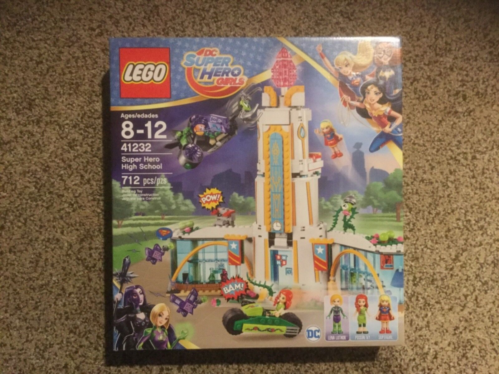 Lego DC Super Hero Girls.  Super Hero High School.  41232  New In Box.