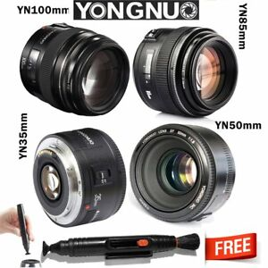 Yongnuo-YN-35mm-50mm-85mm-100mm-EF-AF-MF-Prime-Fixed-Lens-for-Canon-EOS