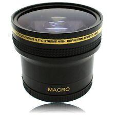 Super Wide HD 0.17x Fisheye Lens for Canon Powershot G1 X