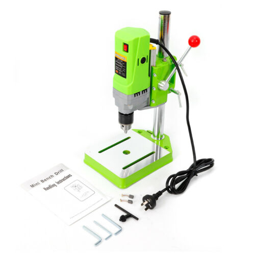 mini Electric Bench Drill Press Stand Drilling Machine Workbench Repair Tool USA