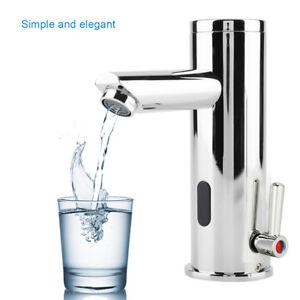 Infrarot Sensor Wasserhahn heiß & kalt Waschtisch Badezimmer ...