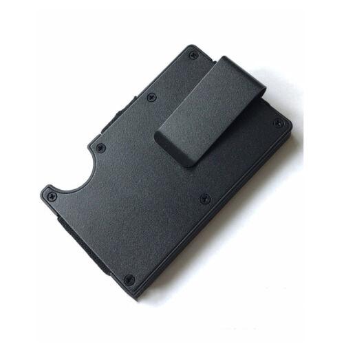 Metal Wallet Credit Card Holder Wallet Men/'s Purse Slim Money Clip Minimalist