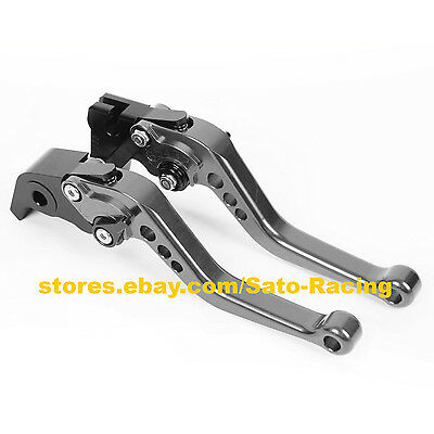 Fit For Suzuki SV650 1999-2010 Extendable Floding Clutch Brake Levers Adjust Set