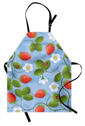 Blumen Kochsch�rze Erdbeer Daisy Retro Schmutzfest Waschbar