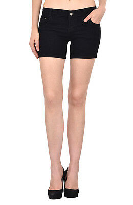 Fasnoya Women's Cotton Denim Hotpants Shorts - so60