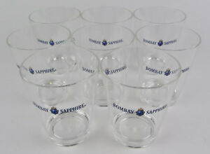 8-NEW-Shatter-Resistant-Crystal-Clear-Acrylic-BOMBAY-SAPPHIRE-Glass-Tumbler