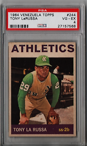 1964-Topps-Venezuela-Tony-LaRussa-Rookie-244-PSA-4-P822-Only-3-Graded-Higher