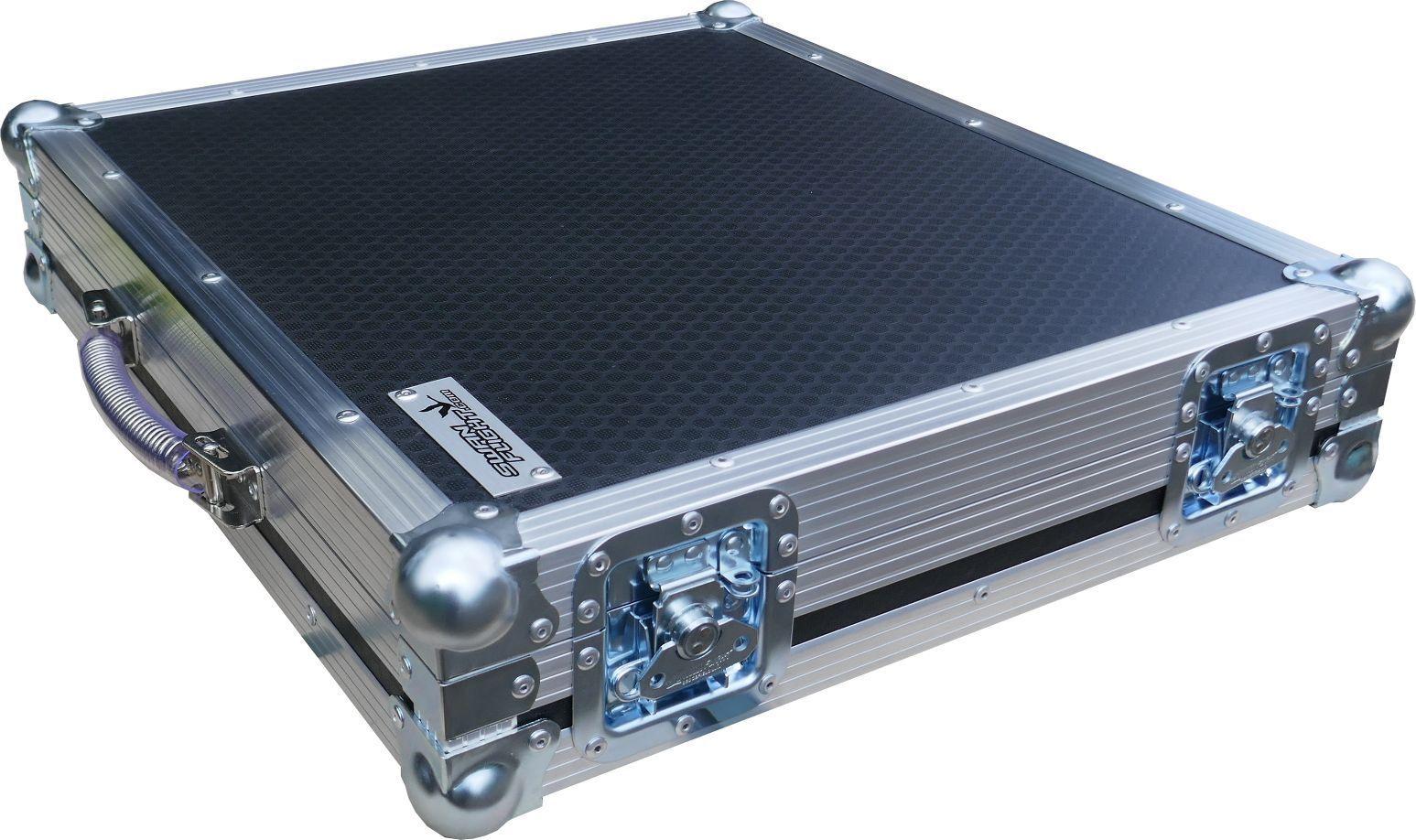 Cassette Tape Holds 120 Swan Flight Case Box (Hex)