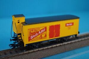 Marklin-84680-B-Closed-Freight-Car-Bon-Ami-Nehs-Yellow