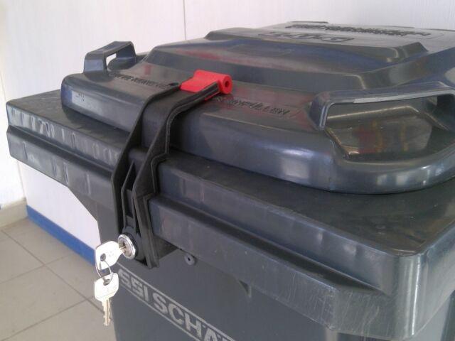 Deckel im Deckel für Weber Müllcontainerverschluss GS 1100 Liter