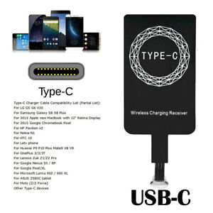 Details about Qi Wireless Charging Charger USB-C Type-C Receiver For Moto Z  Z2 Play X4 Z Force