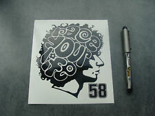 sticker auto moto GP SIC 58 Simoncelli race your life 15cm decals race A103-070