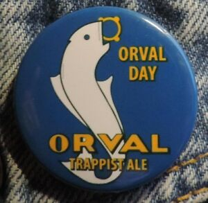 Pin Button Badge Ø38mm  ORVAL (bière) 4