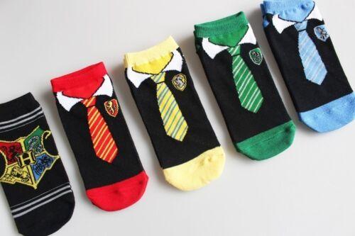 Gryffindor Ravenclaw Hufflepuff Slytherin socks for Kids boys girls  womens