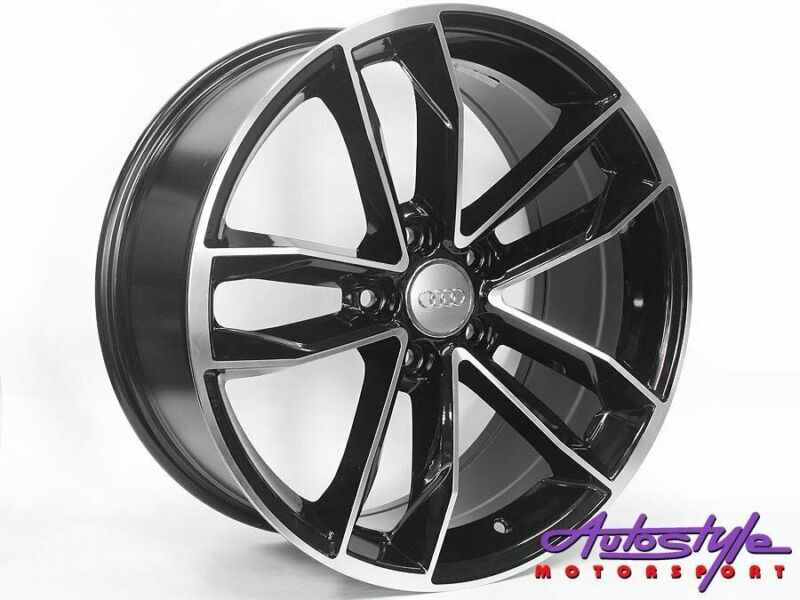 18 inch CT1208 5-112 Matt Black Wheels - 5 112 pcd - 42 offset - sold as a set of 4 Suitable VW, Mer