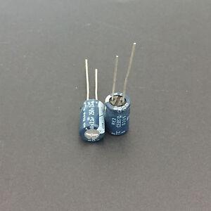 10 Pieces 2,2uf 450v Capacitor elelettrolitico 8x11mm 85 ° 3,5mm step