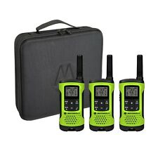 Motorola Talkabout T261TP Two-Way Radio, 25 Mile, 3 Pack, Lime