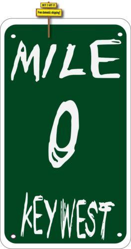 """Key West Mile Zero US1 Duval Street Decal Sticker 3.25/"""" x 5.25/""""  #240"""