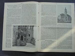 Frauen Und Kinder Speyer Historische Museum Geeignet FüR MäNner Original 1909 Baugewerkszeitung 86