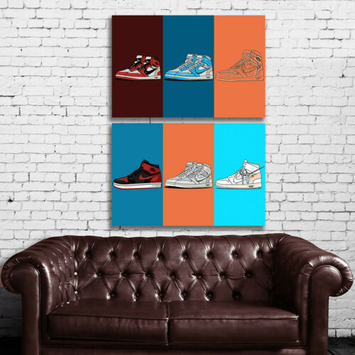 #34 Sneakers Air Shoes Hypebeast Culture Large Poster