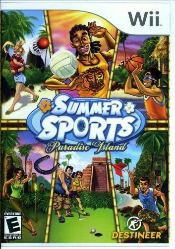 Summer Sports: Paradise Island (Nintendo Wii, 2008) LN WITH Manual & LOW SHIP