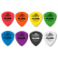 Dunlop-Tortex-Flow-Plectrums-picks-558P-Player-12-Pack-0-50mm-to-1-5mm thumbnail 1