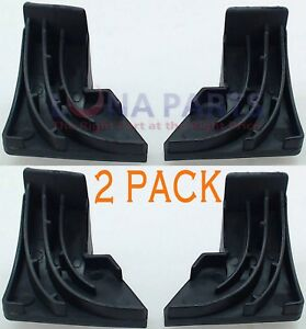 (2 Pack) Dw2 Wd8x227 & Wd8x228 Pack For Ge Dishwasher Corner Door Gaskets Set
