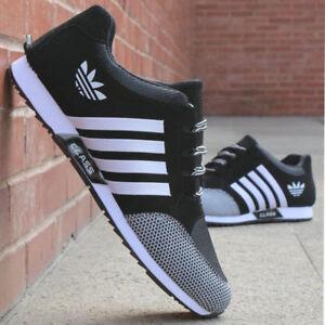 Men-039-s-Athletic-scarpe-da-ginnastica-sport-all-039-aperto-in-esecuzione-Scarpe-Casual-traspirante