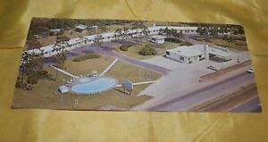 Vintage-Chrome-Long-Postcard-Georgian-Motel-and-Restaurant-Folkston-Ga