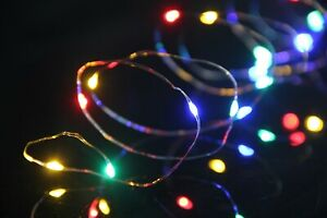 200LED SOLAR COPPER WIRE STRING CHRISTMAS PARTY LIGHTS