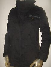 NWT Juniors Small Black Fox Riders Racing Co Motocross Military Issue Jacket S