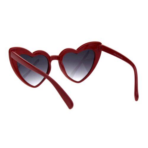 Girl/'s Heart Shape Cateye Sunglasses Kids Designer Style Sunnies UV 400