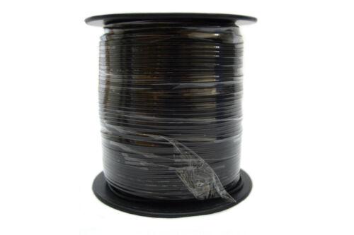 18 Gauge 500' Feet Black Power Wire Remote Stranded Wire Car Home Trailer