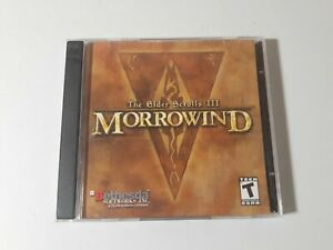 The Elder Scrolls III Morrowind 2 Disc PC Game Very Good Condition