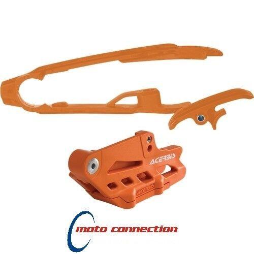 NEW ACERBIS PERFORMANCE CHAIN GUIDE & SLIDER KIT KTM SXF250 SXF350 SXF450 2012