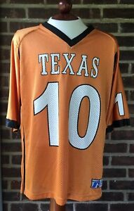 official photos a26c0 97943 Details about Russell Texas Longhorns #10 Vince Young Jersey Size Medium